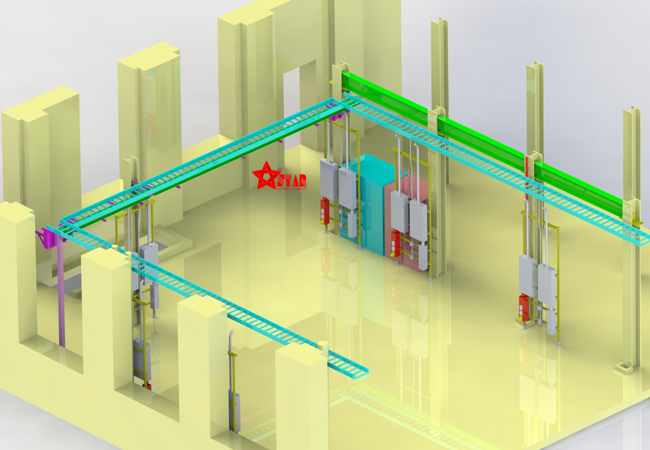 công ty sản xuất thang máng cáp điện