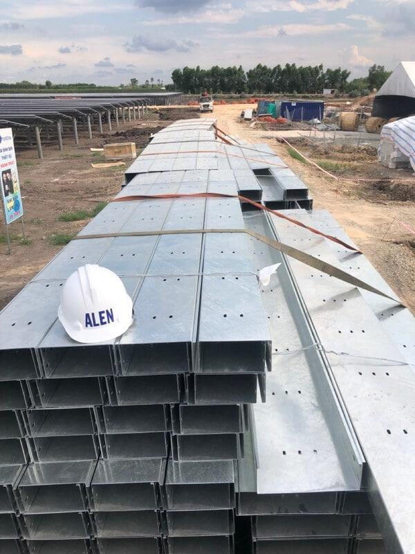 Máng cáp mạ kẽm nhúng nóng chất lượng cao của Công ty Alen