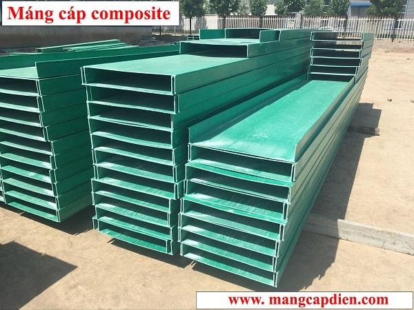 Máng cáp điện Composite trọng lượng nhẹ, độ bền cao