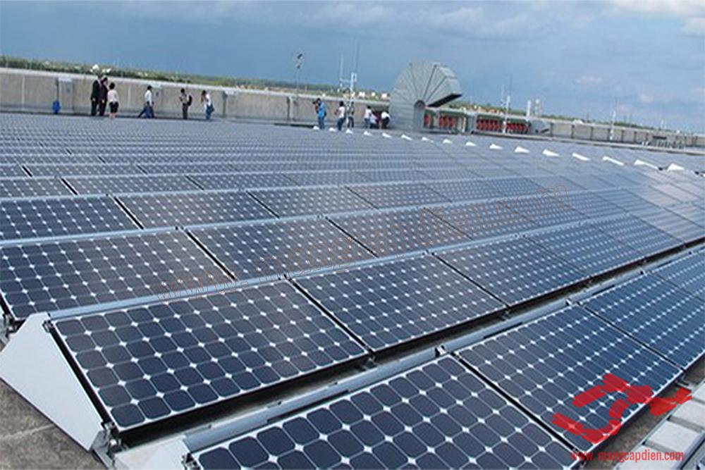 thang máng cáp dự án năng lượng mặt trời