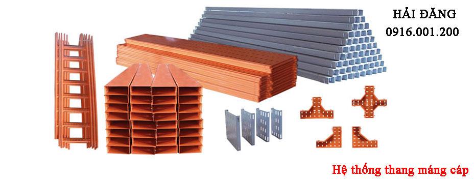 sản xuất và thi công thang máng cáp tại tp hồ chí minh