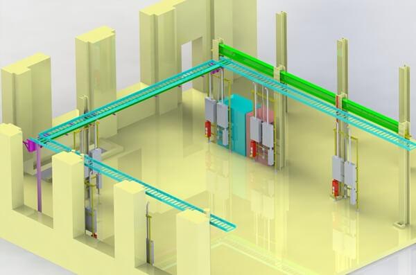 Cách thi công lắp đặt thang máng cáp theo đúng tiêu chuẩn